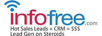 infofree.com unlimited sales leads logo