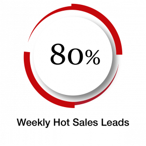 Weekly Hot Sales Leads 80%