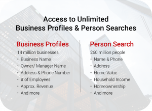 Business Profiles & Person Search
