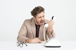 Stressful Sales Call