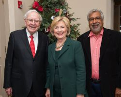 Warren Buffett, Hillary Clinton and Vin Gupta